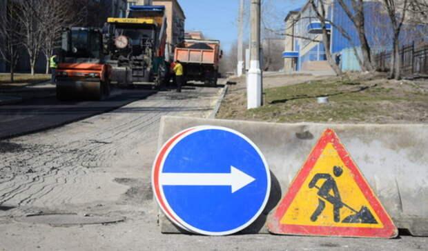 Наотремонтированных дорогах вОренбурге «забыли» про разметку изнаки