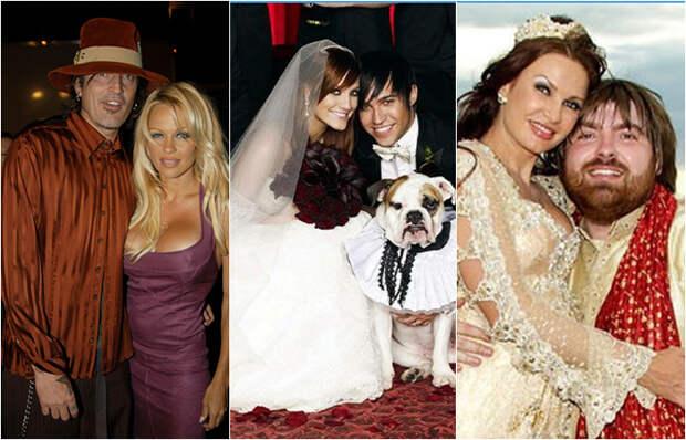 5 звездных пар, у которых свадебная церемония выглядела как супер-шоу