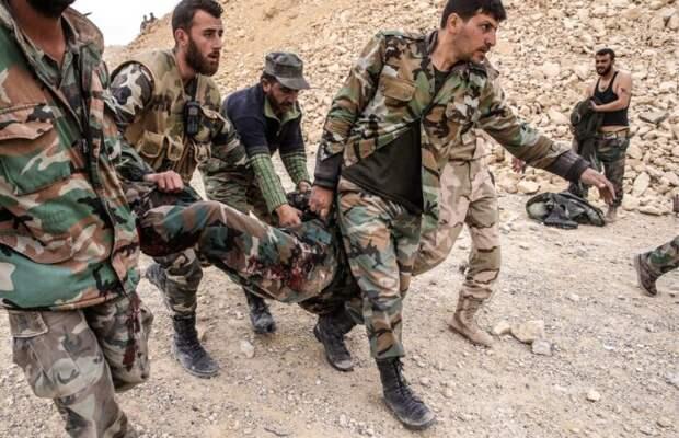 Армия Сирии понесла серьезные потери в южной части страны