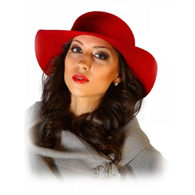 Фетровая шляпа в классическом исполнении