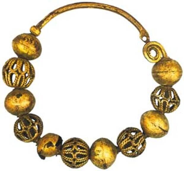 Височное кольцо из коллекции МИДУ