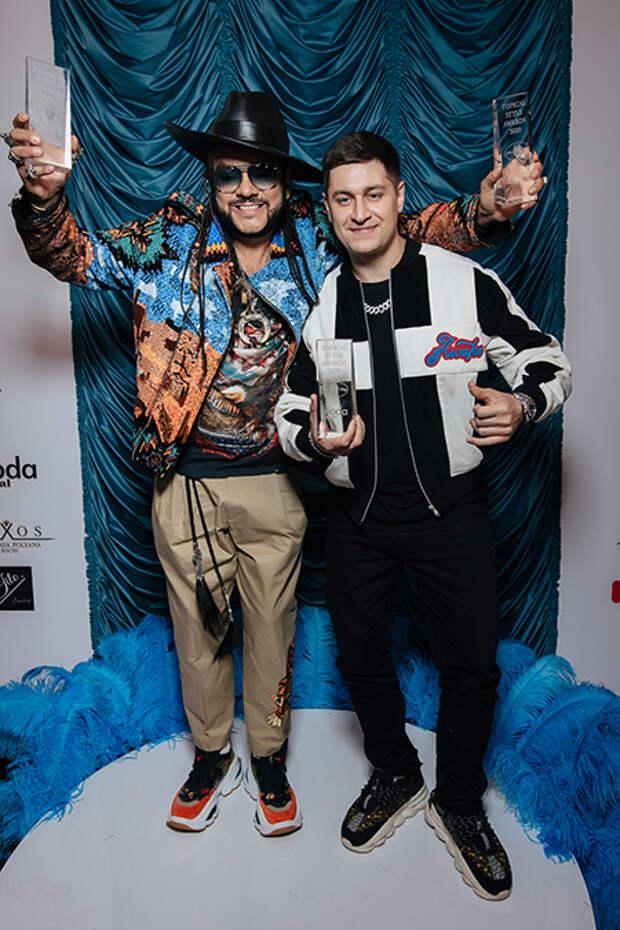 Ани Лорак, Филипп Киркоров, Зара и другие гости церемонии Topical Style Awards