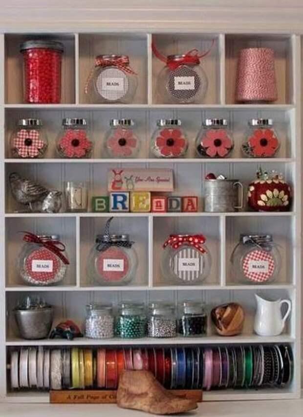 Идеи хранения мелочей