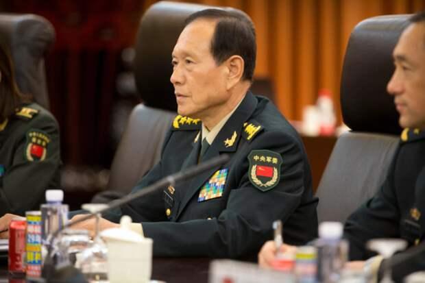 Вэй Фэнхэ, министр обороны Китая. Источник изображения: https://vk.com/denis_siniy