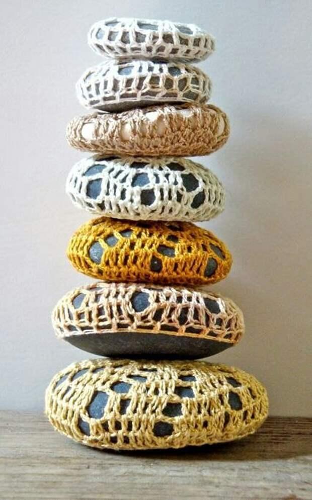Морские вязаные сувениры