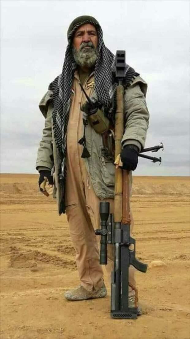 В Ираке погиб «охотник за игиловцами» снайпер Абу Тахсин ас-Салихи (4 фото)
