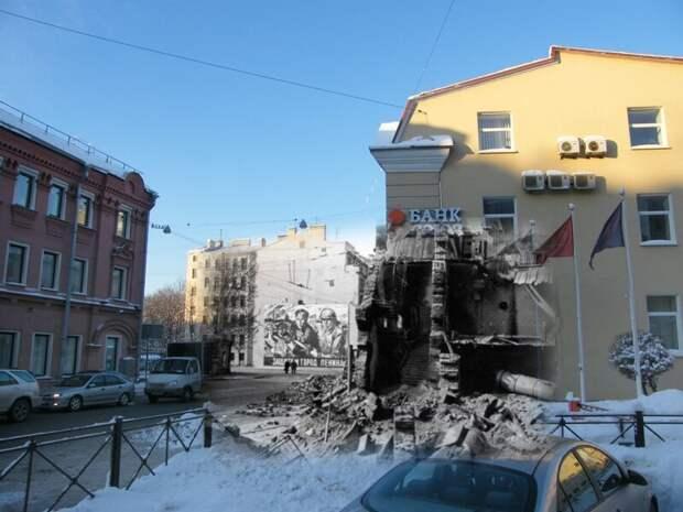 Ленинград 1942-2010 Петроградская сторона. Кронверкская улица 13 блокада, ленинград, победа