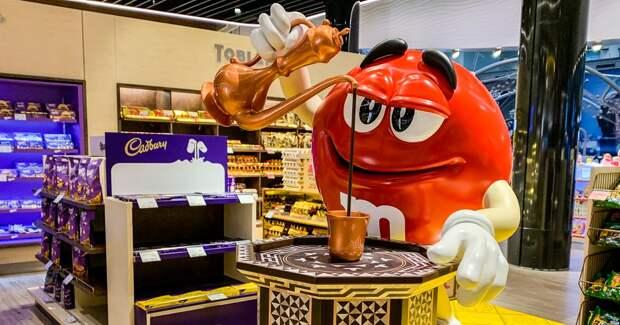 Mars начнет продавать в России шоколадную плитку M&M's