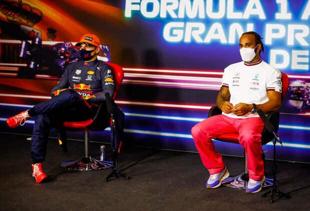 Льюис Хэмилтон: Сегодня узнал о Ферстаппене больше, чем за все предыдущие гонки
