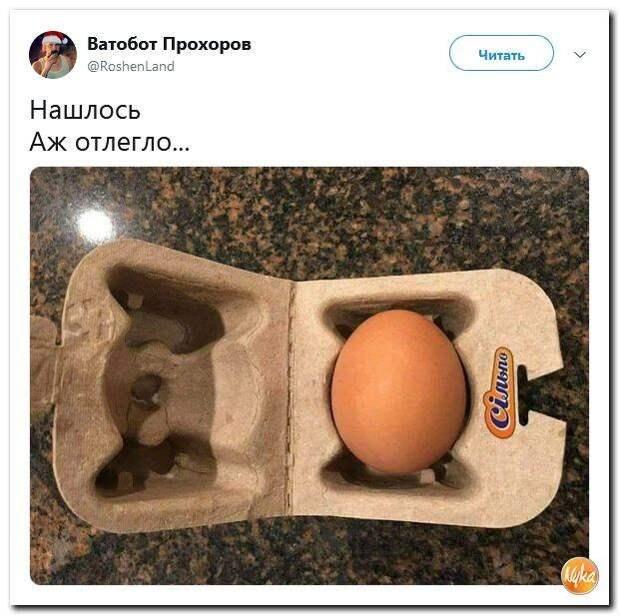 "Кто ""украл"" десятое яйцо?"