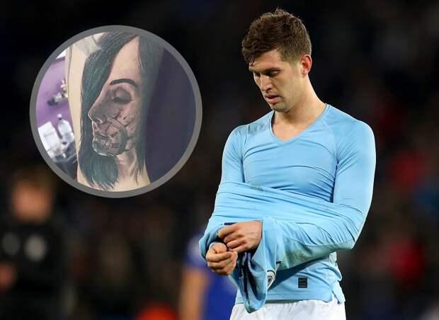 Игрок «Ман Сити» год пытается удалить татуировку слицом жены после ухода кбеременной любовнице