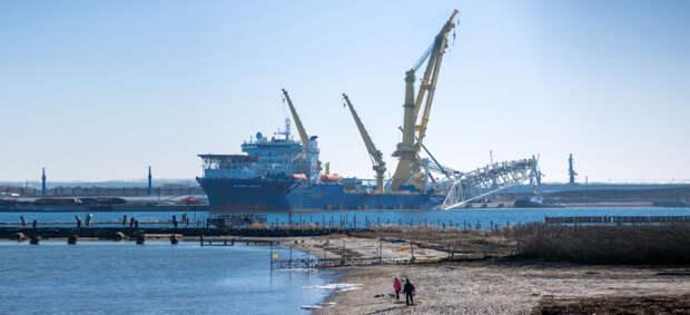 Байден откажется от санкций против оператора «Северного потока — 2» — Axios