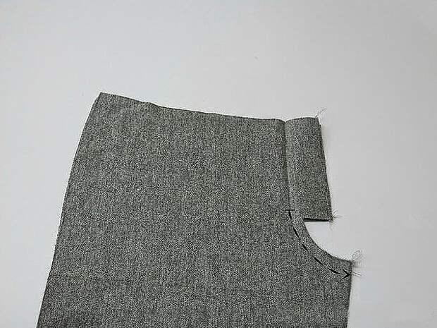 Как пришить к брюкам молнию 1