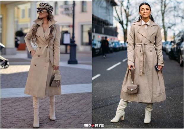 Какие тренчи предпочтут носить стильные модницы весной 2021 года