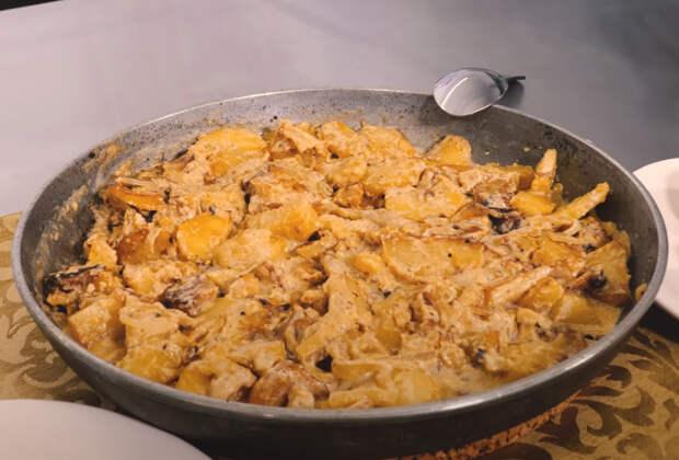 Звездный рецепт: жареный картофель со сливками от Дмитрия Куклачёва