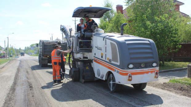 Несколько участков дорог отремонтируют в двух посёлках Барнаула в рамках нацпроекта