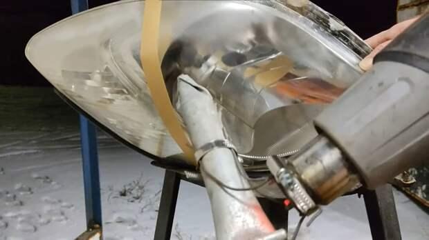 Делаем прибор для химической полировки фар автомобиля своими руками. Простой способ