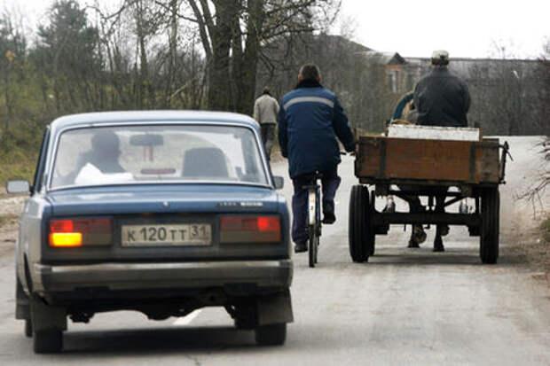Российский парк легковых автомобилей ветшает
