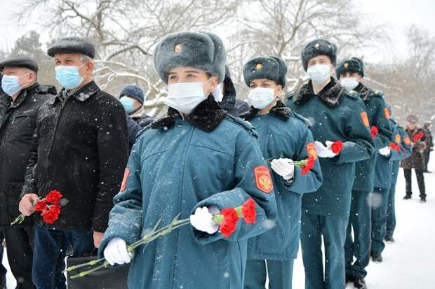 В Краснодаре почтили память воинов-интернационалистов