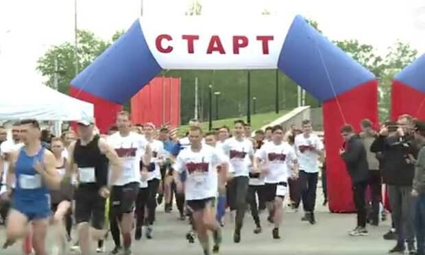 В Пензе прошел легкоатлетический забег, приуроченный годовщине Победы