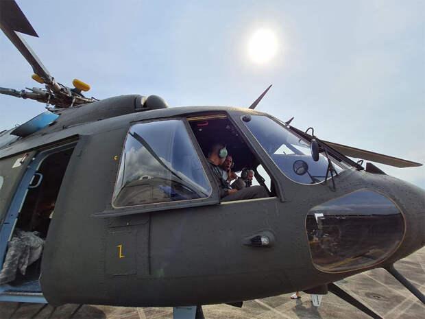 Армейская авиация Таиланда получила еще три вертолета Ми-17В-5