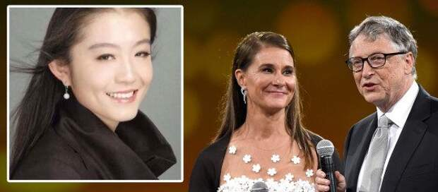 Молодую красавицу-китаянку называют разрушительницей брака Билла Гейтса