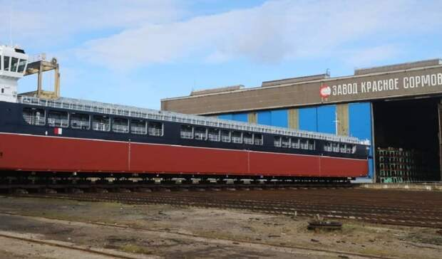 Большие планы! 11 сухогрузов построит нижегородский завод «Красное Сормово»