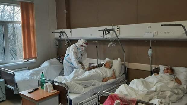 Более 5 тысяч больных COVID-19 выявили за сутки в Москве