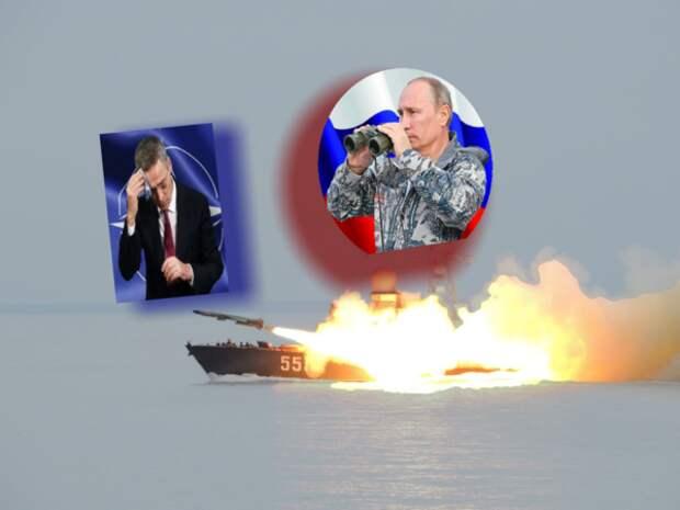 """""""Неоправданно жесткими действиями"""" России против НАТО во время учений российских ВМФ в Балтике возмущены в альянсе"""