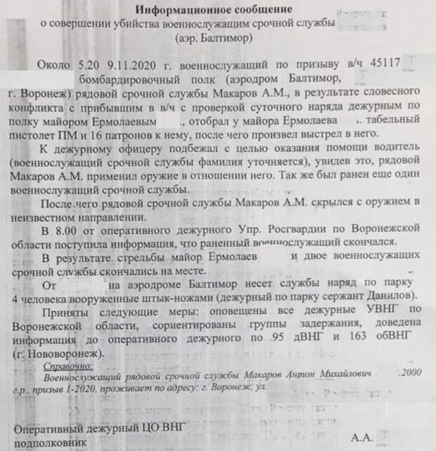 Бойня в Воронеже: Главные версии массового расстрела