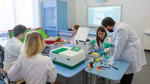 В Москве за пять лет число учеников медицинских классов увеличилось вдвое