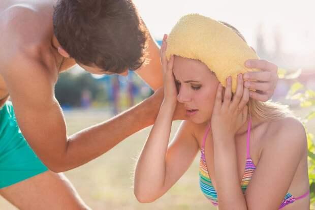 Тепловой удар: рассказываем о самых распространённых летних болезнях