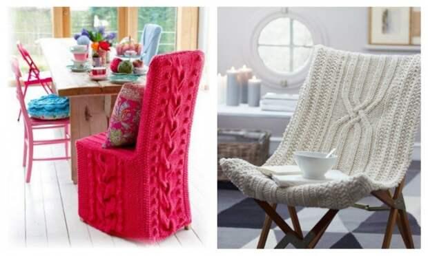 зимние чехлы на стулья