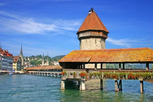 ВАШ ОТПУСК. 10 достопримечательностей Швейцарии