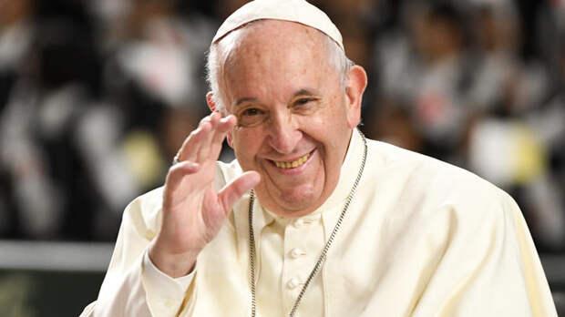 """""""Молюсь за вас"""": папа римский послал телеграмму Путину, пролетая над Россией"""
