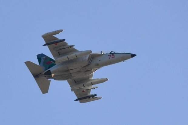 В Белоруссии потерпел крушение военный самолет Як-130