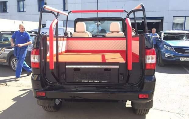 УАЗ выпустил кабриолет на базе внедорожника Patriot внедорожник, кабриолет, уаз