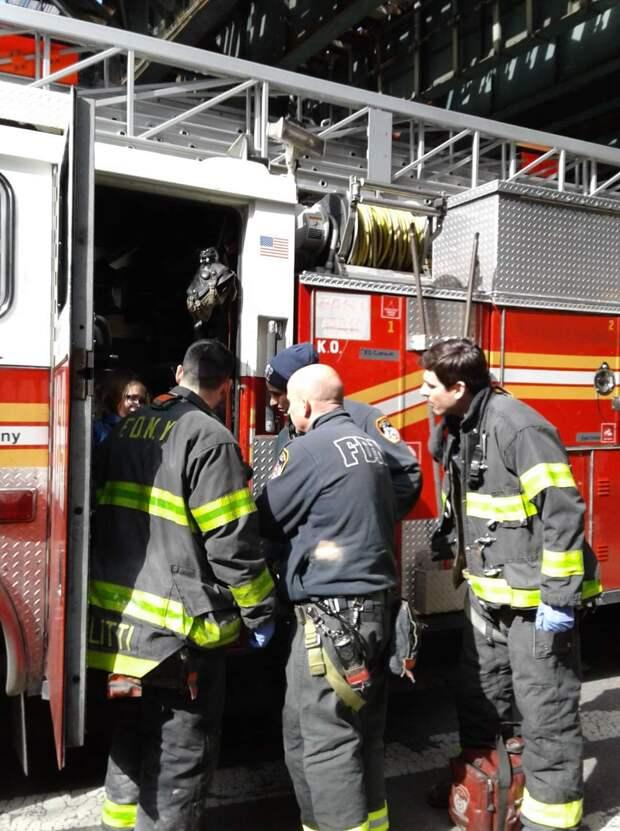 Все работы хороши: как живут пожарные в Америке