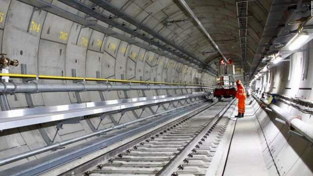 Метрополитен Crossrail. | Фото: Metro Tunnel.