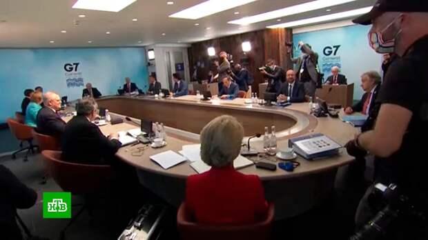 Саммит G7 не обошелся без очередного курьеза Байдена