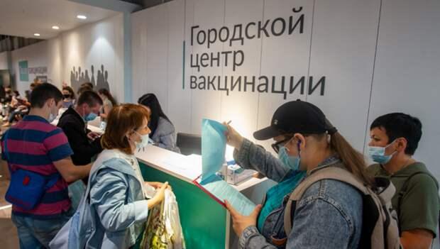 В Петербурге растет количество желающих записаться на прививку