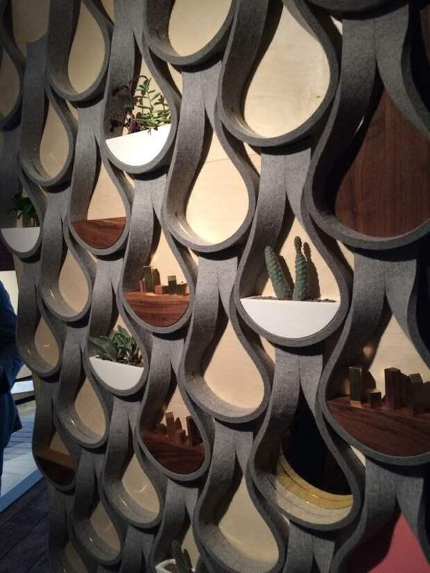 Дом, в который влюблен: 26 завораживающих и стильных идей использования войлока в интерьере, фото № 9