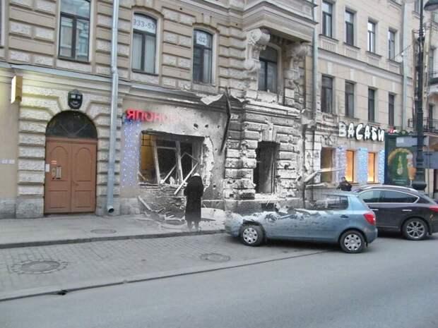Ленинград 1945-2009 Невский проспект 160 блокада, ленинград, победа
