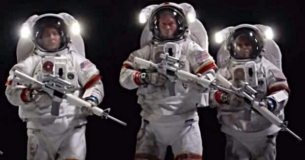 Проект «Горизонт»: военная база на Луне и космический спецназ, вооруженный ядерными базуками