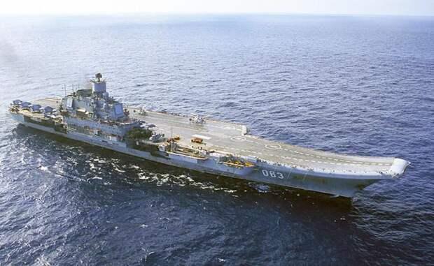 Российский авианосец, бессмысленный и беспощадный к деньгам
