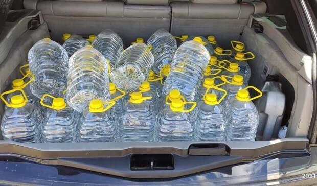 В Оренбурге на складе изъяли 500 литров фальшивой спиртосодержащей жидкости