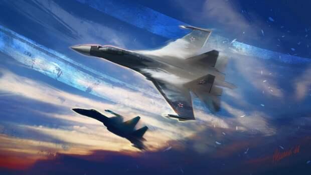 Минобороны РФ: истребители Су-35 во время полета не нарушали воздушные границы Эстонии
