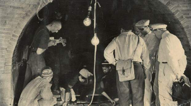 Редкие архивные фото вскрытия гробницы Тамерлана