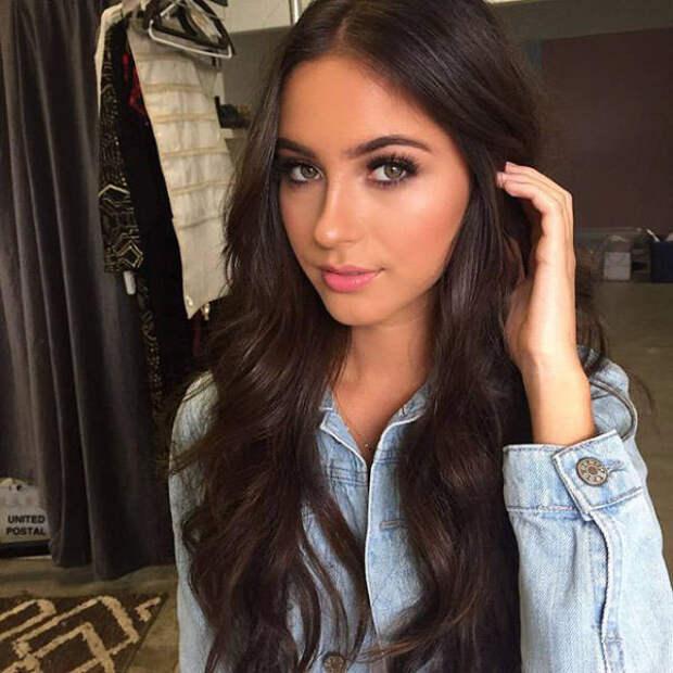 Красивые и молодые девушки с естественной красотой из нашей жизни ...