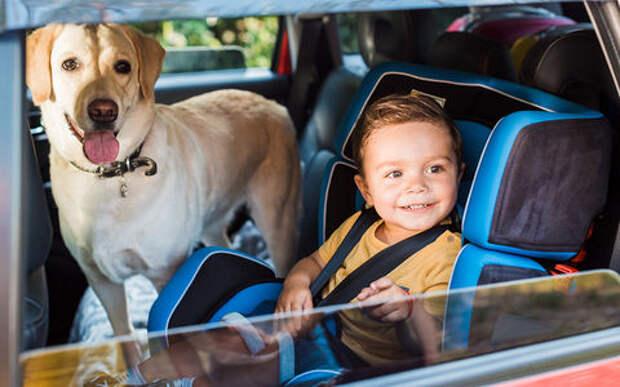 Едете с ребенком - снижайте скорость на 20 км\ч. Иначе штраф!